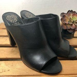 Vince Camuto black heels 9.5
